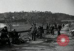 Image of German civilians on east bank of Mulde River Grimma Germany, 1945, second 50 stock footage video 65675073903