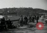 Image of German civilians on east bank of Mulde River Grimma Germany, 1945, second 51 stock footage video 65675073903