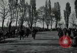 Image of German civilians on east bank of Mulde River Grimma Germany, 1945, second 55 stock footage video 65675073903