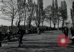 Image of German civilians on east bank of Mulde River Grimma Germany, 1945, second 60 stock footage video 65675073903