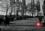 Image of German civilians on east bank of Mulde River Grimma Germany, 1945, second 62 stock footage video 65675073903