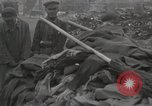 Image of former inmates Germany, 1945, second 39 stock footage video 65675073905