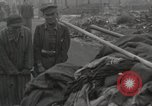 Image of former inmates Germany, 1945, second 41 stock footage video 65675073905