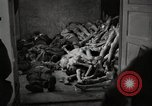 Image of pile of emaciated corpses Germany, 1945, second 7 stock footage video 65675073907