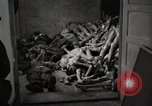 Image of pile of emaciated corpses Germany, 1945, second 11 stock footage video 65675073907