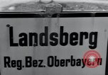 Image of emaciated corpses Landsberg Germany, 1945, second 2 stock footage video 65675073909