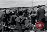 Image of emaciated corpses Landsberg Germany, 1945, second 56 stock footage video 65675073909