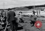 Image of emaciated corpses Landsberg Germany, 1945, second 59 stock footage video 65675073909