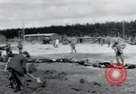 Image of emaciated corpses Landsberg Germany, 1945, second 61 stock footage video 65675073909