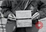 Image of liberated surviving concentration camp prisoners Landsberg Germany, 1945, second 3 stock footage video 65675073910