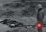 Image of unburied bodies of victims Germany, 1945, second 16 stock footage video 65675073912