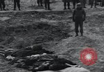 Image of unburied bodies of victims Germany, 1945, second 24 stock footage video 65675073912