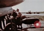 Image of B-26 Marauder bomber Germany, 1945, second 2 stock footage video 65675073916