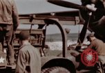 Image of B-26 Marauder bomber Germany, 1945, second 13 stock footage video 65675073916