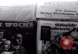 Image of German newspapers Germany, 1937, second 1 stock footage video 65675073931