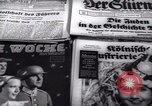 Image of German newspapers Germany, 1937, second 5 stock footage video 65675073931