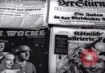 Image of German newspapers Germany, 1937, second 6 stock footage video 65675073931