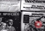 Image of German newspapers Germany, 1937, second 8 stock footage video 65675073931