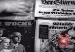Image of German newspapers Germany, 1937, second 12 stock footage video 65675073931