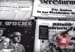 Image of German newspapers Germany, 1937, second 15 stock footage video 65675073931