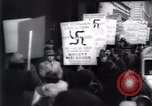 Image of anti-Nazi protesters New York City USA, 1938, second 34 stock footage video 65675073983