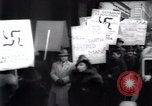 Image of anti-Nazi protesters New York City USA, 1938, second 36 stock footage video 65675073983