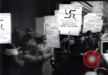 Image of anti-Nazi protesters New York City USA, 1938, second 37 stock footage video 65675073983