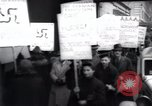 Image of anti-Nazi protesters New York City USA, 1938, second 40 stock footage video 65675073983