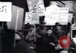 Image of anti-Nazi protesters New York City USA, 1938, second 41 stock footage video 65675073983