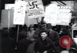 Image of anti-Nazi protesters New York City USA, 1938, second 42 stock footage video 65675073983
