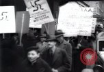 Image of anti-Nazi protesters New York City USA, 1938, second 43 stock footage video 65675073983