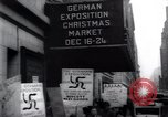 Image of anti-Nazi protesters New York City USA, 1938, second 56 stock footage video 65675073983