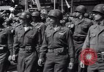 Image of United States troops Pilsen Czechoslovakia, 1946, second 51 stock footage video 65675073989