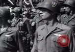 Image of United States troops Pilsen Czechoslovakia, 1946, second 52 stock footage video 65675073989