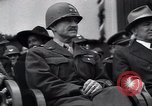 Image of United States troops Pilsen Czechoslovakia, 1946, second 56 stock footage video 65675073989