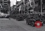 Image of United States troops Pilsen Czechoslovakia, 1946, second 58 stock footage video 65675073989