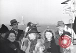 Image of refugees New York United States USA, 1941, second 42 stock footage video 65675074118