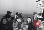 Image of refugees New York United States USA, 1941, second 43 stock footage video 65675074118