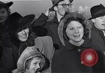 Image of refugees New York United States USA, 1941, second 52 stock footage video 65675074118