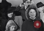 Image of refugees New York United States USA, 1941, second 56 stock footage video 65675074118