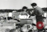 Image of biggest farm family Quebec Canada, 1942, second 20 stock footage video 65675074801