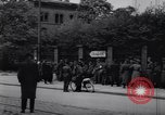Image of U.S Army marches German prisoners through city Munich Germany, 1945, second 38 stock footage video 65675075225