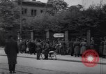 Image of U.S Army marches German prisoners through city Munich Germany, 1945, second 39 stock footage video 65675075225