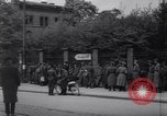 Image of U.S Army marches German prisoners through city Munich Germany, 1945, second 40 stock footage video 65675075225