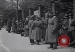 Image of U.S Army marches German prisoners through city Munich Germany, 1945, second 41 stock footage video 65675075225