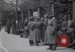 Image of U.S Army marches German prisoners through city Munich Germany, 1945, second 42 stock footage video 65675075225