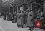 Image of U.S Army marches German prisoners through city Munich Germany, 1945, second 43 stock footage video 65675075225