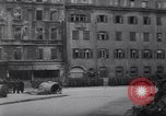 Image of U.S Army marches German prisoners through city Munich Germany, 1945, second 44 stock footage video 65675075225