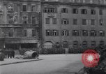 Image of U.S Army marches German prisoners through city Munich Germany, 1945, second 45 stock footage video 65675075225