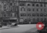 Image of U.S Army marches German prisoners through city Munich Germany, 1945, second 46 stock footage video 65675075225